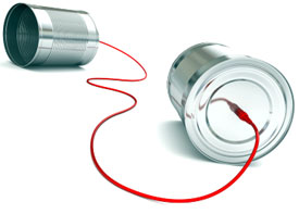 Tin Cans Red String