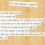If You Job Interview Today–The Ultimate 11-Step Checklist for Success!