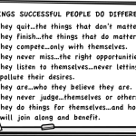 8 Things Successful People Do Differently
