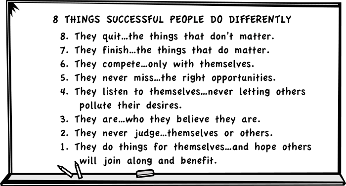 8-things-successful-people-do-differently