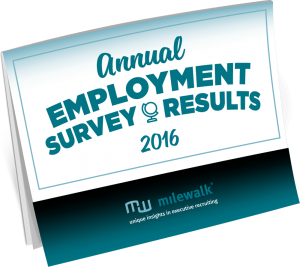 milewalk Annual Employment Survey Results 2016