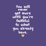 Today's Line to Live By – October 1, 2015