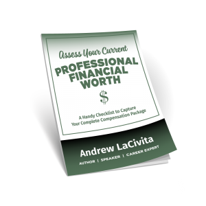Assess Your Current Professional Financial Worth