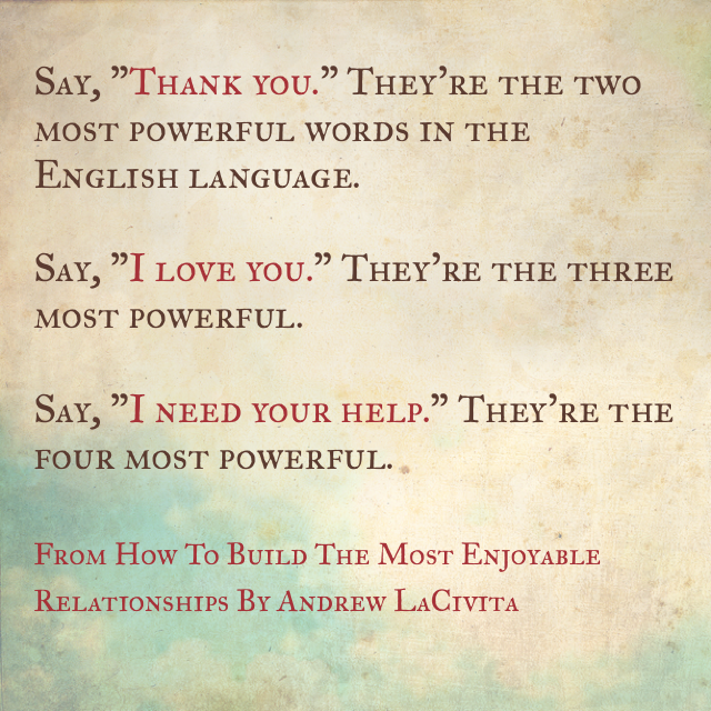 How to build relationships 1