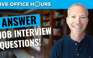 howtoanswerjobinterviewquestionsliveofficehoursandrewlacivita