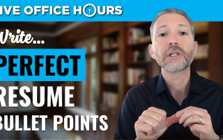 howtowriteperfectresumebulletpointsliveofficehoursandrewlacivita