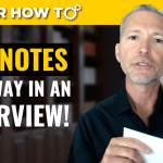 What You Need to Know About Using Notes in a Job Interview